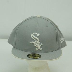 MENS NEW ERA 59 FIFTY CHICAGO WHITE SOX HAT